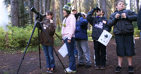 Humane education - Photo by Willamette National Forest