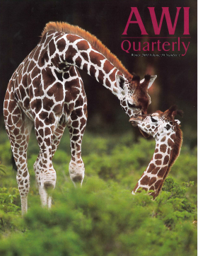 Winter 2001 AWi Quarterly Cover - Photo by Mark Thomas