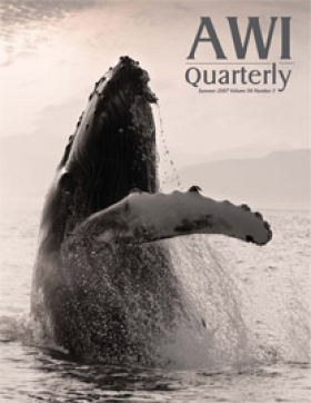 Summer 2007 AWI Quarterly Cover - Photo by John Hyde