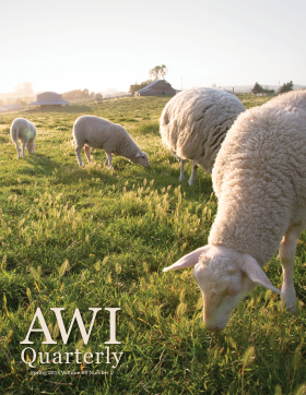 Spring 2015 AWI Quarterly - Cover, Photo by Mike Suarez