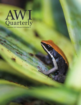 Summer 2015 AWI Quarterly - Cover, Photo by Zach Baranowski