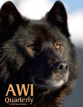 Fall 2009 AWI Quarterly Cover - Photo by John Hyde