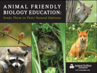 Animal Friendly Biology Education Poster
