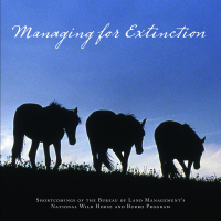 Managing for Extinction Cover
