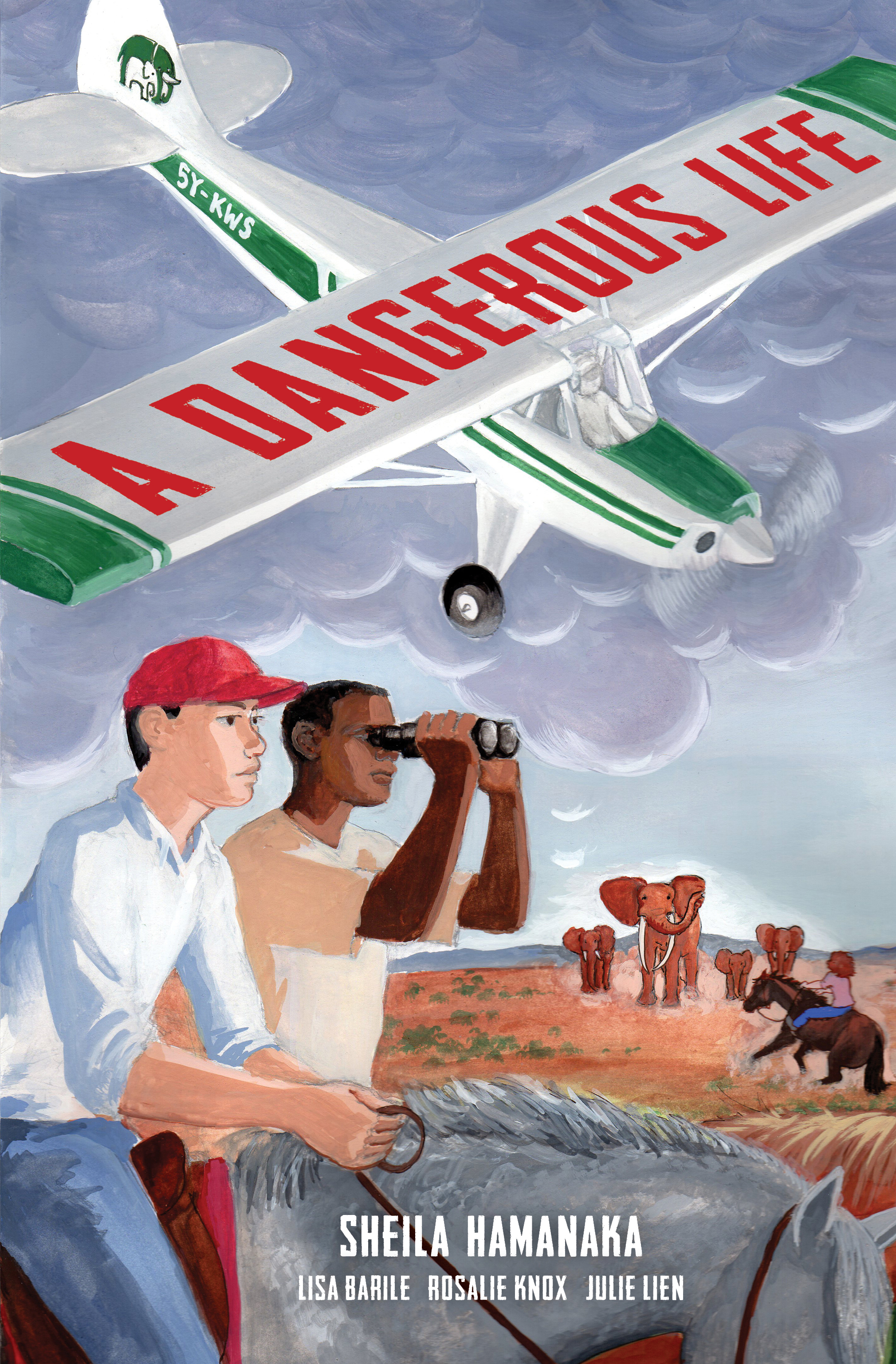 A Dangerous Life Cover - Sheila Hamanaka