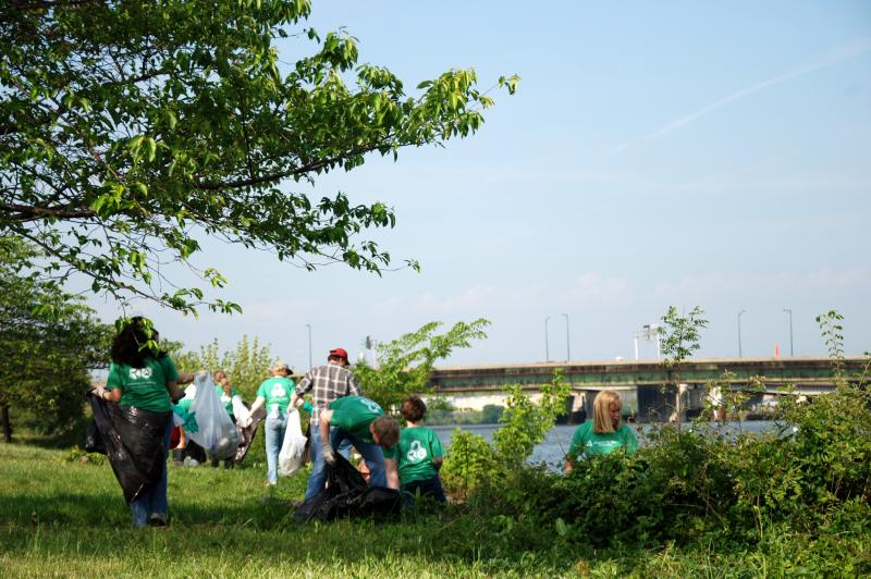 Celebrate Earth Day: Join AWI in Cleaning Up the Anacostia - Photo by Alexandra Alberg