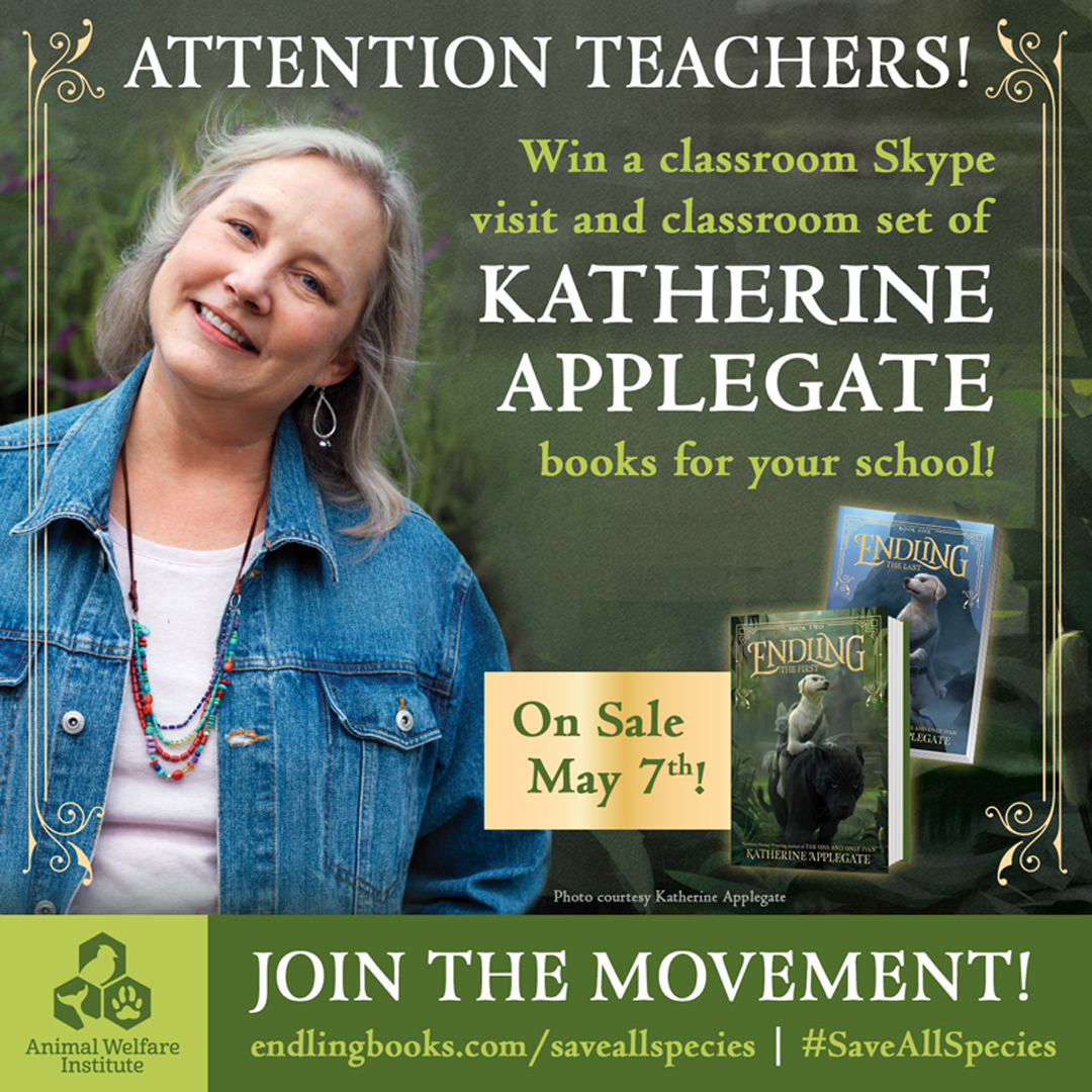 SaveAllSpecies Sweepstakes with HarperCollins - Endling - Katherine Applegate