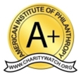 Animal Welfare Institute has received an A+ from The American Institute of Philanthropy